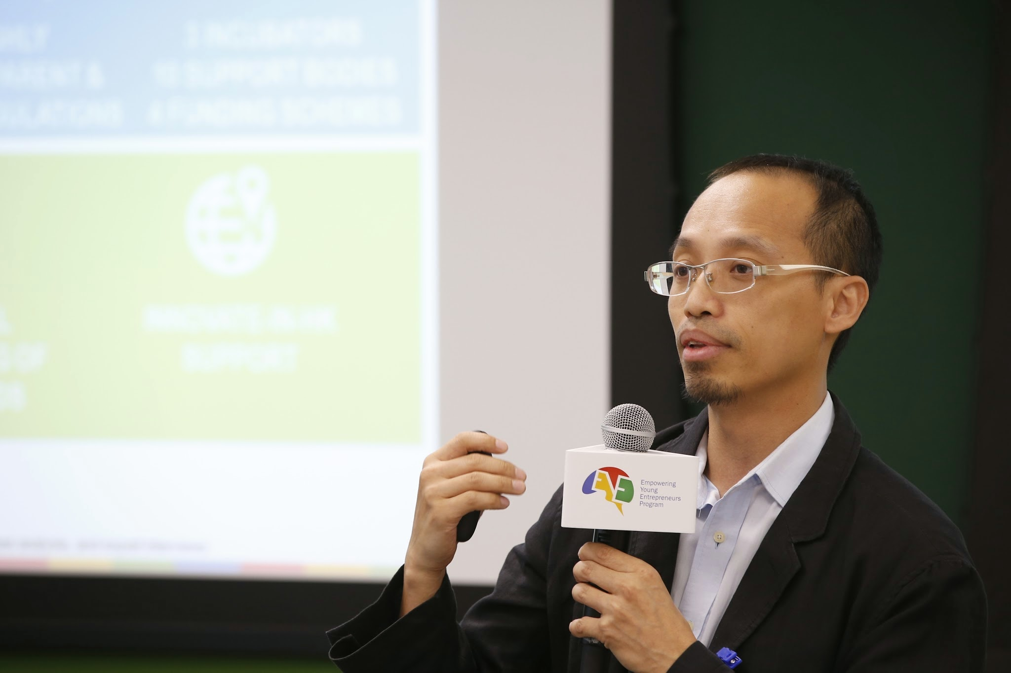 Professor Kevin Au, Director of CUHK Center for Entrepreneurship